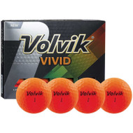 Volvik Vivid Sherbert Orange Golf Balls