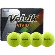 Volvik Vivid Yellow Golf Balls