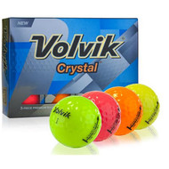 Volvik Crystal 3 Piece Assorted Golf Balls