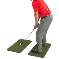 IZZO GOLF Split Driving Range Hitting Mat