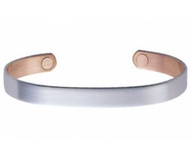 Sabona Brushed Silver Original Magnetic Bracelet # 530