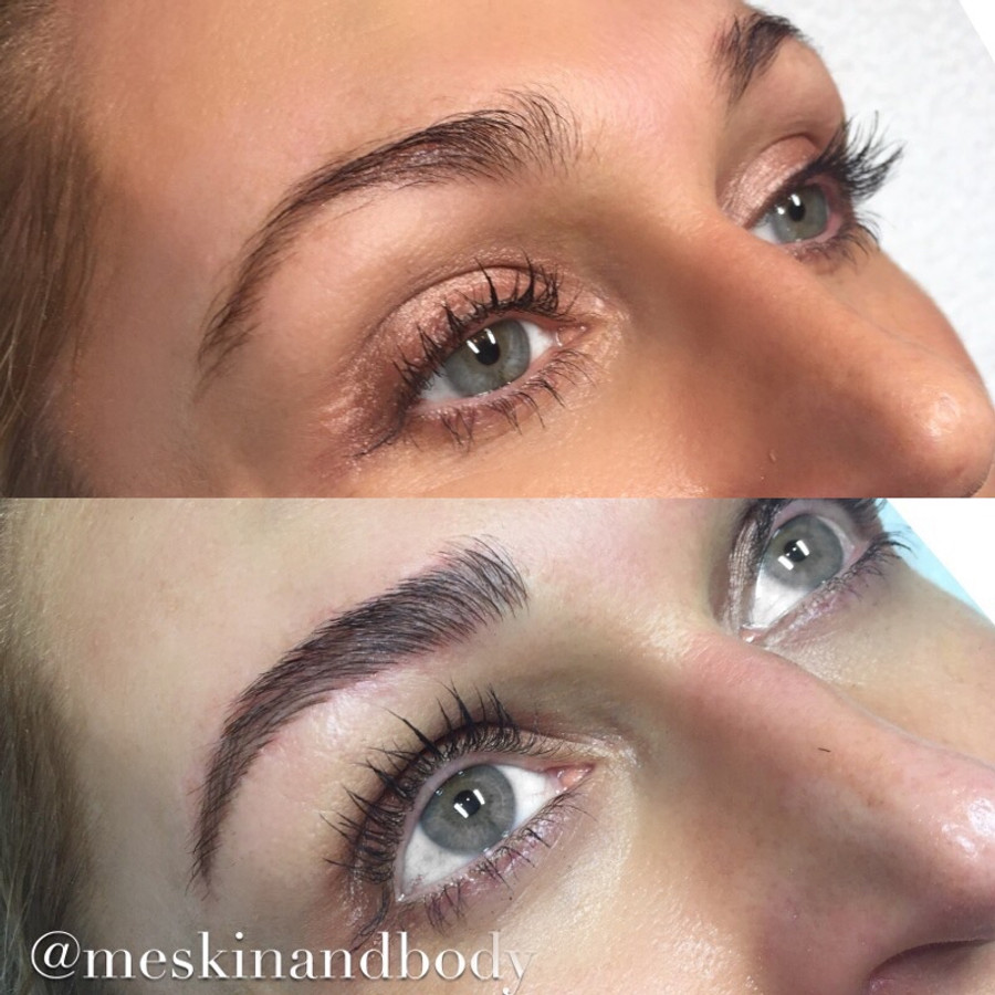 Feather touch tattoo brows melbourne for Powder eyebrow tattoo