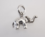Precision Casted Medium Elephant Pendant