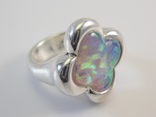 White Lab Created Opal
