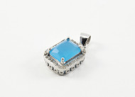 Natural Emerald Cut Chalcedony