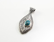 Genuine Turquoise, Dotted Granulation, and Filigree