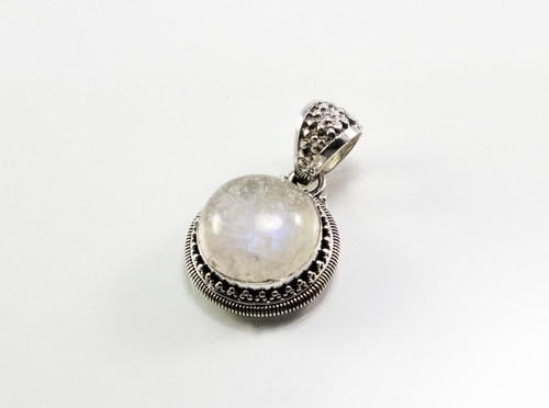 Genuine Round-Shaped Moonstone