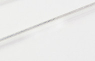Thin 8-Sided Silver Snake Chain