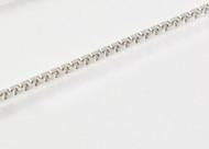 Medium Thick Silver Box Chain