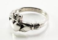 Plain Silver Claddagh Ring
