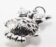 Electroform Owl Pendant