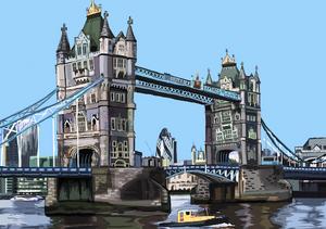 Tower Bridge by Tomartacus
