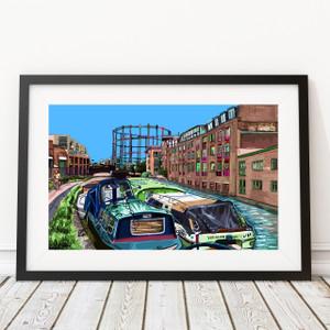 Regents Canal Blue