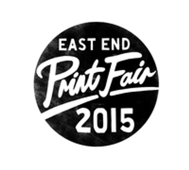 EAST END PRINT FAIR 2015!