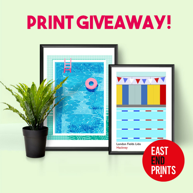 Print Giveaway! Dive into Summer