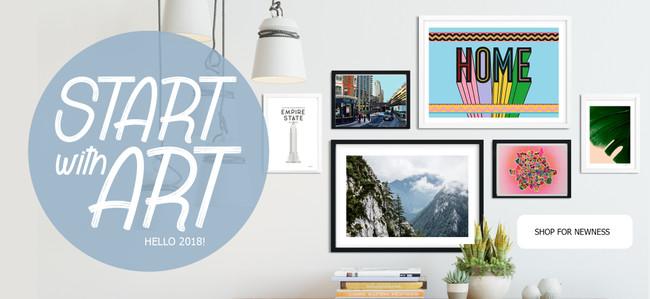 START WITH ART! KICKSTART 2018 WITH US!