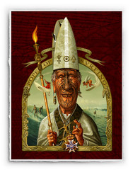 Pope of Surfing [SIGNATURE EDITION 18 x 23]