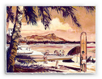 Waikiki Beach [SIGNATURE EDITION 23 x 18]