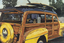 Yellow Fenders [Note Card Set of 6]