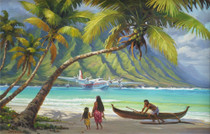 Polynesian Sunday [Note Card Set of 6]