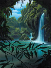 Rainforest Clearing [Note Card Set of 6]