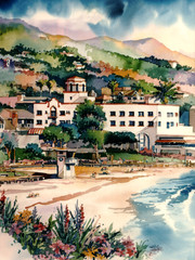Hotel Laguna [PRINT 12 x 16]