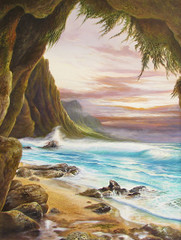 Napali Shores [Note Card Set of 6]