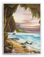 Napali Shores [SIGNATURE EDITION 18 x 23]