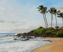 The Beach at Wailea [Original Painting]