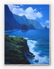 Blue Coast Waters [SIGNATURE EDITION 18 x 23]
