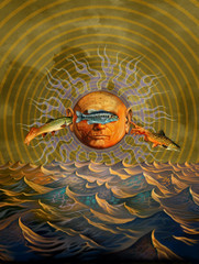 Sun of a Tripper [Note Card Set of 6]