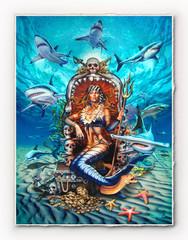 Shark Queen [SIGNATURE EDITION 18 x 23]