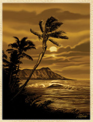 Diamond Head [Note Card Set of 6]