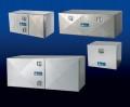 "Tool Box, Single Diamond Plate Door, 24"" X 24"" X 48"""
