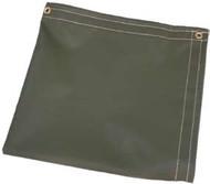 50' X 50' Tan Temper Tent Tarp W/Rope In Hems W/Grommets 24'' Apart