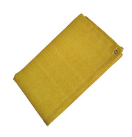 9' X 15' Gold Slag-Shed Blanket 24 oz. Neo/Glw/Grommets 24'' Apart