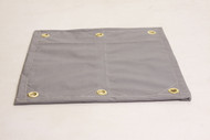 10' X 20' c/s Ultra Strong Regal Style Flat Hem Poly Tarp - Blue