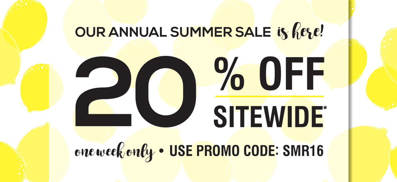 20 Reasons to Shop Our Annual Summer Sale