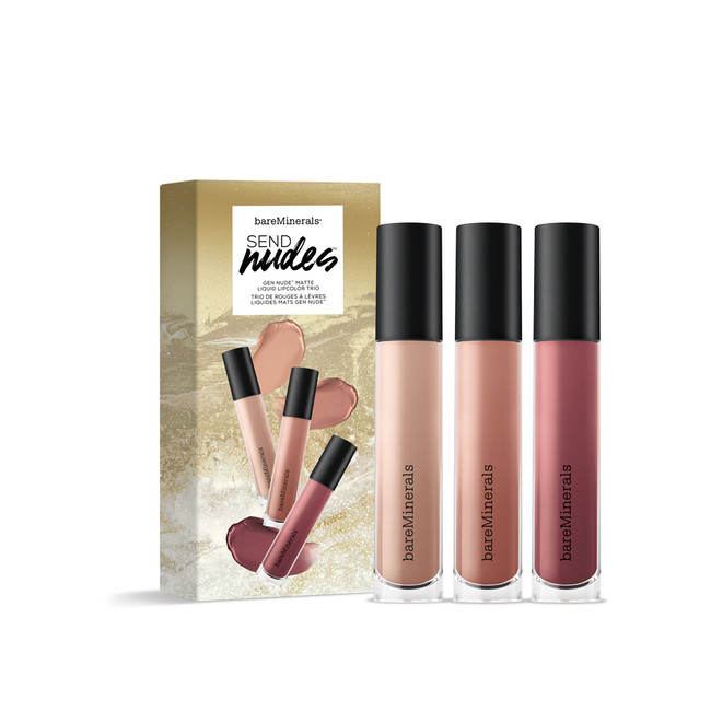 bareMinerals Send Nudes Lip Set