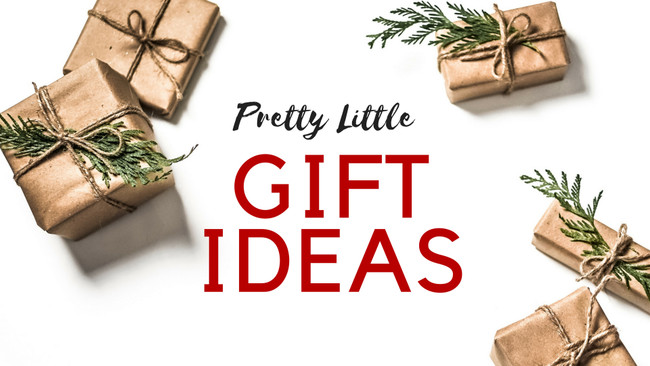 Pretty Little Gift Ideas for the Holidays