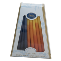 Kosher, Multi-Colored Chanukah Candles