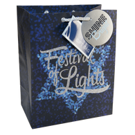 Chanukah Gift Bags-Medium Size, Assorted Styles