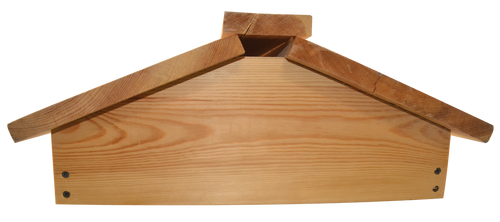 Pigeon Lid, natural timber, assembled