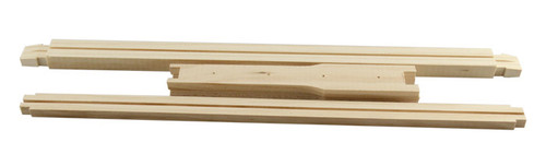 Double groove frame flat pack
