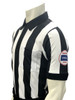"Smitty Kansas KSHSAA Body Flex 2 1/4"" Dye Sublimated Football Referee Shirt"