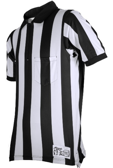 "Honig's Ultra Tech 2"" Stripe Short Sleeve Football Referee Shirt"