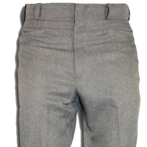 Smitty Heather Grey Flat Front Umpire Plate Pants