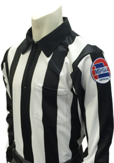 Missouri MSHSAA Foul Weather Long Sleeve Referee Shirt
