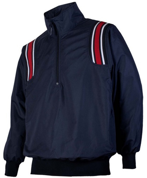 Honig's Navy Umpire Pullover with Red and White Trim