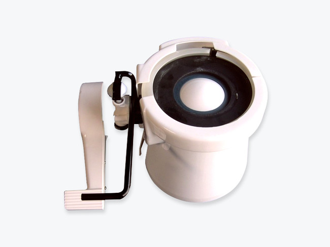 Sealand base kit complete for 910 , 510, and 2010 series toilets/ white